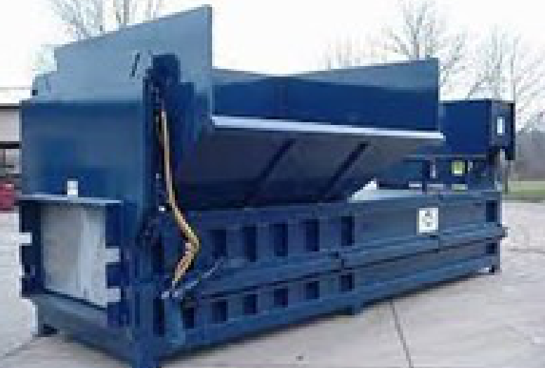 Precrusher Compactor with Side-feed Hopper