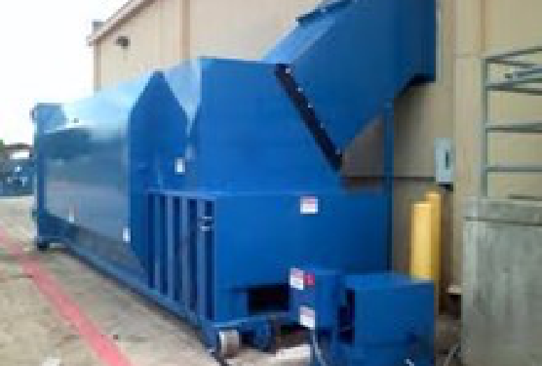 Self-contained Compactor with Chute