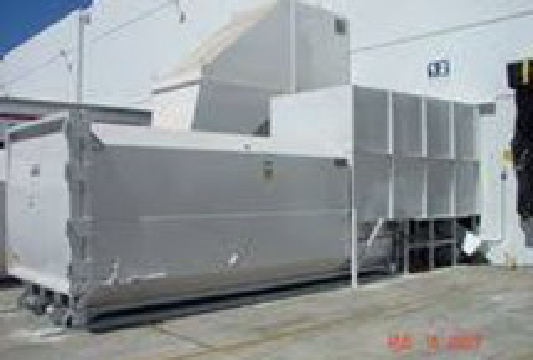 Self-contained Compactor with Enclosure