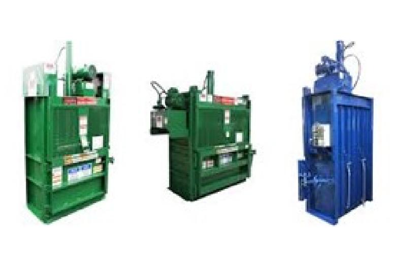 Vertical Balers for Plastics, Metals, and Textiles